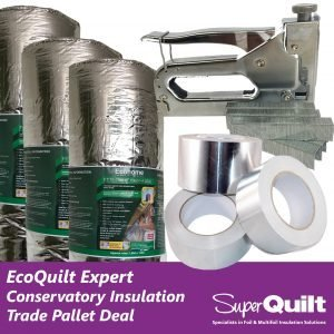 Conservatory Roof Multifoil Insulation - Trade Pallet